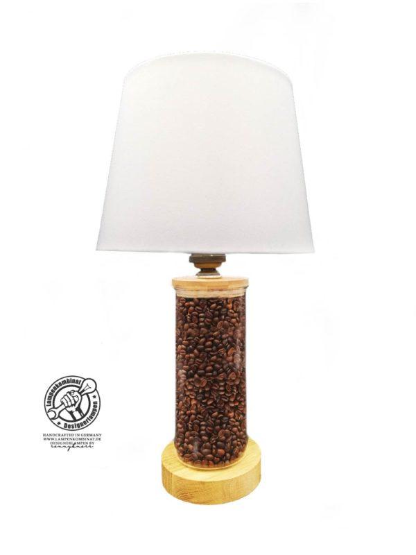 Kaffeebohnenlampe