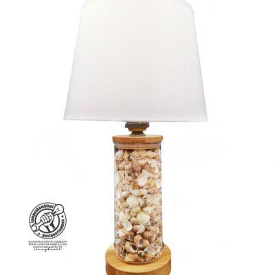 Lampe del Mare mit hellen Muscheln