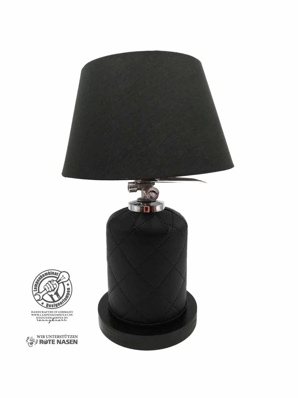 Feuerlöscherlampe Black