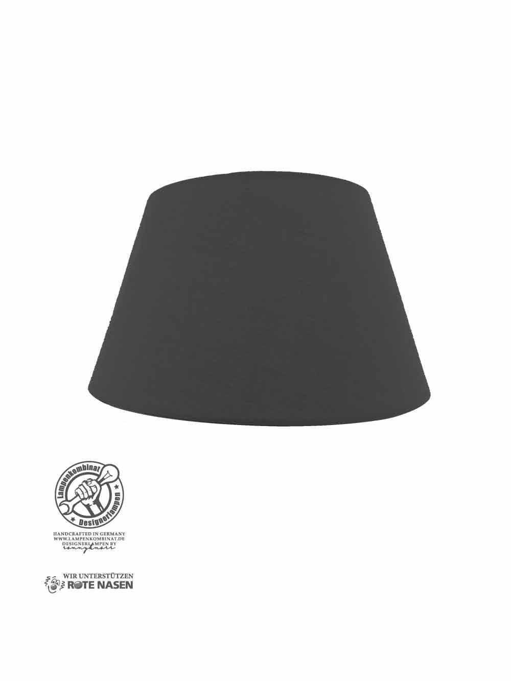 Lampenschirm schwarz