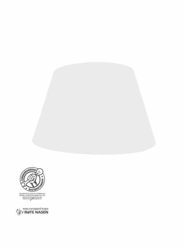 Lampenschirm weiß