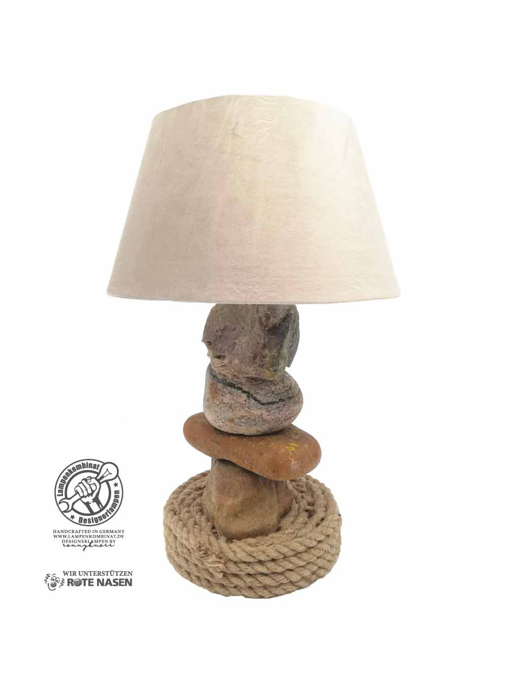 Feldsteinlampe