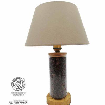 Kaffeebohnenlampe (Zylinderform)