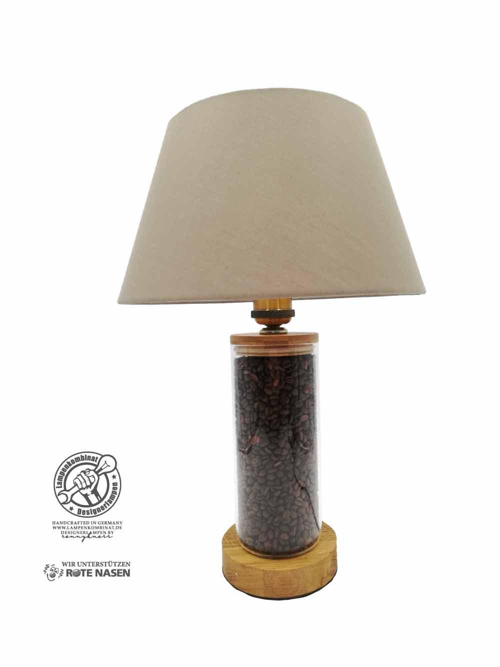 Kaffebohnenlampe (Zylinder)