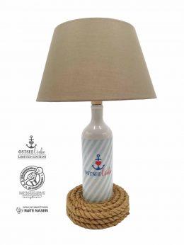 Steingutlampe Ostseeliebe